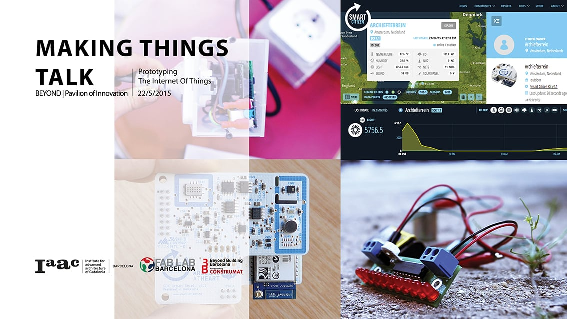 Internet of Things - Making things talk