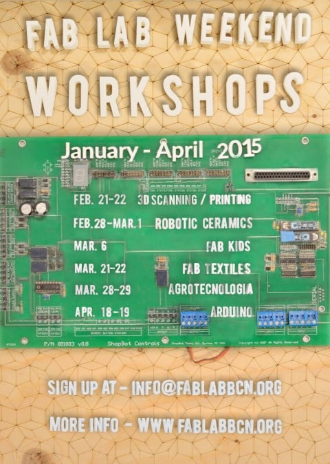 Fab Lab Weekend Workshops