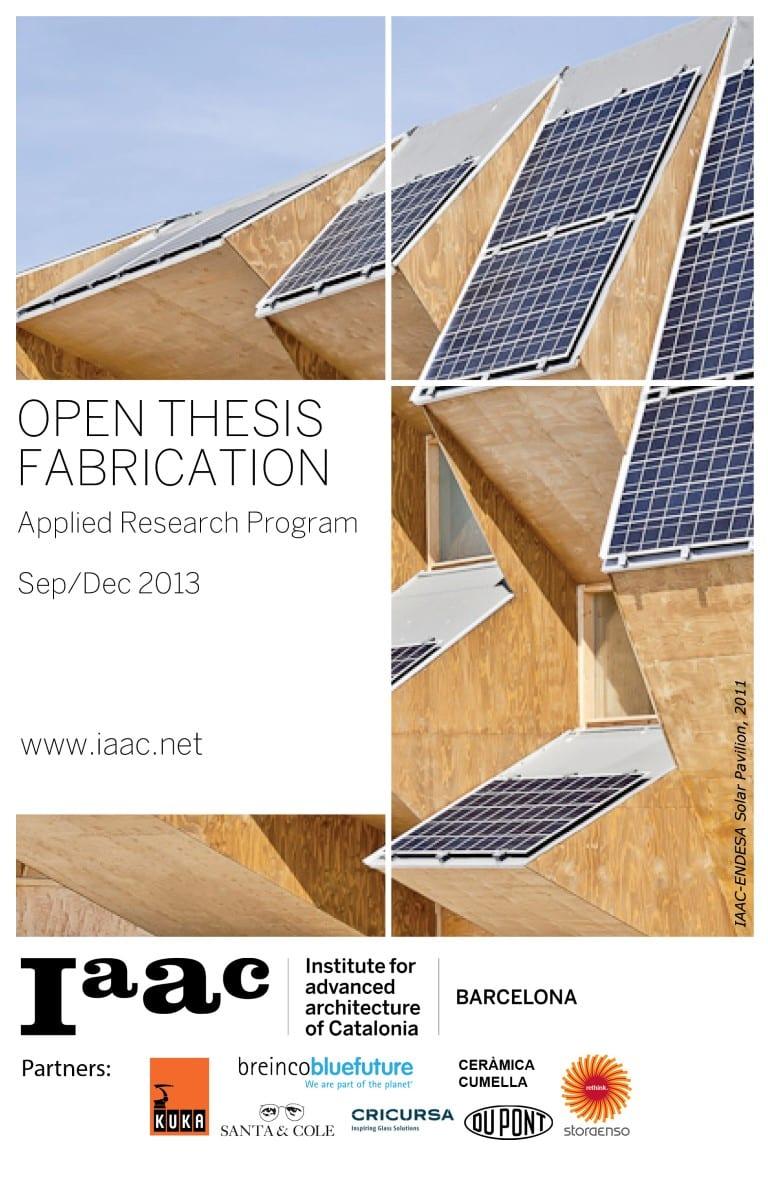iaac open thesis fabrication