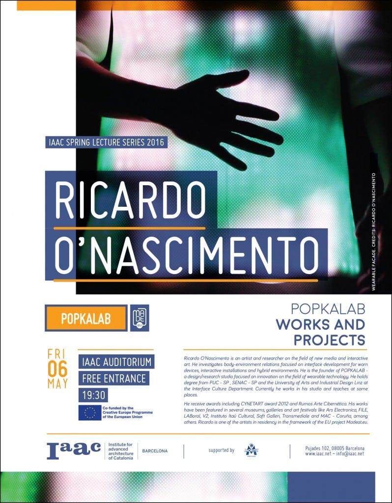 Ricardo O-nascimento iaac lecture