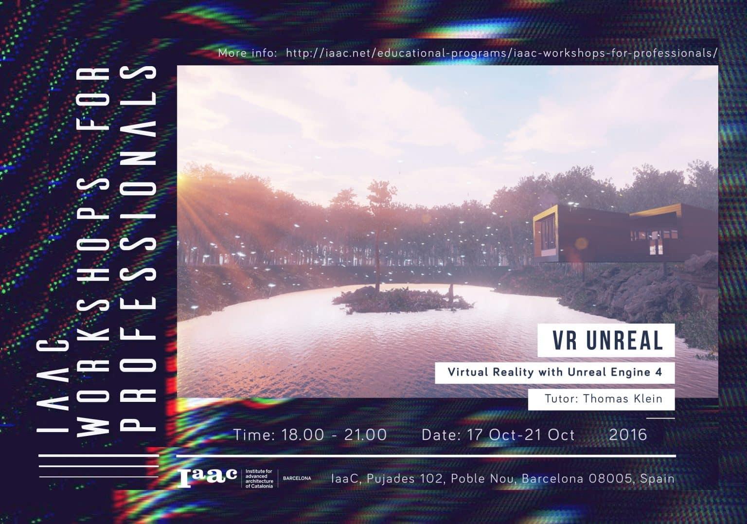 VR Unreal - IAAC