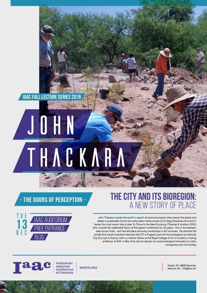 john Thackara iaac