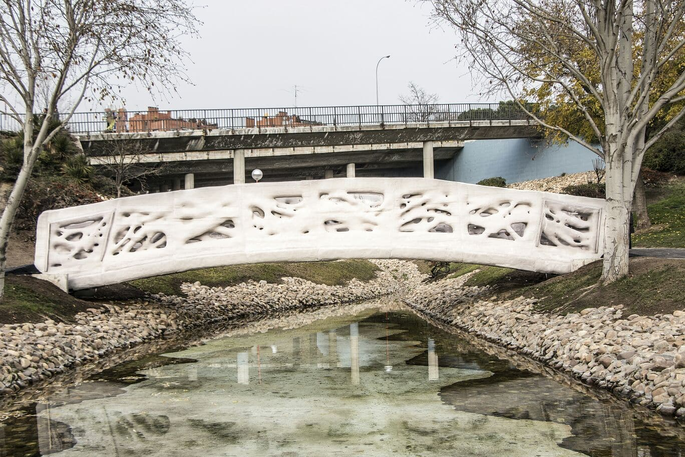 First 3D printed bridge in the world