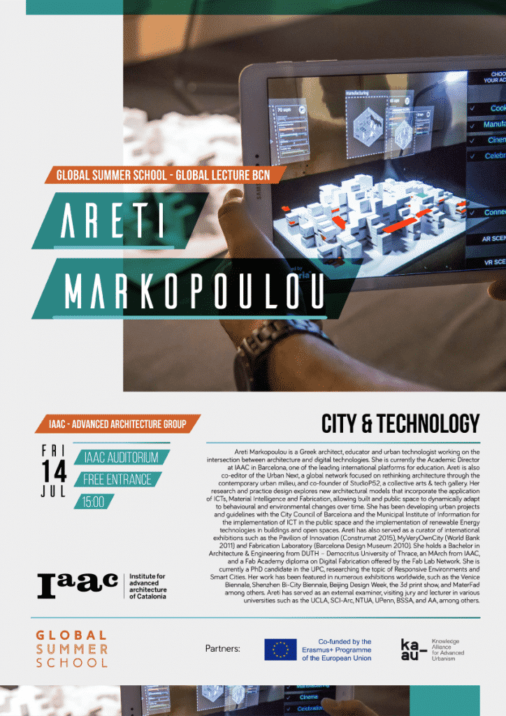 Areti Markopoulou City and Technology