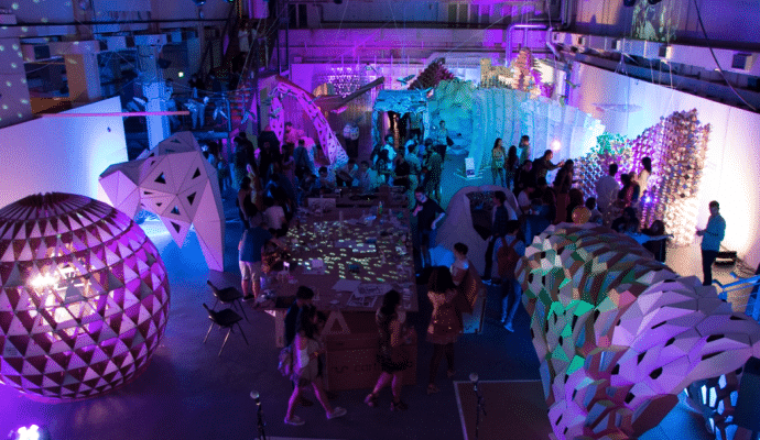 IAAC Lightweight Structures at London Fab Fest
