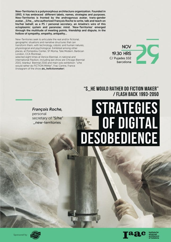 Francois Roche - Strategies of Digital Disobedience