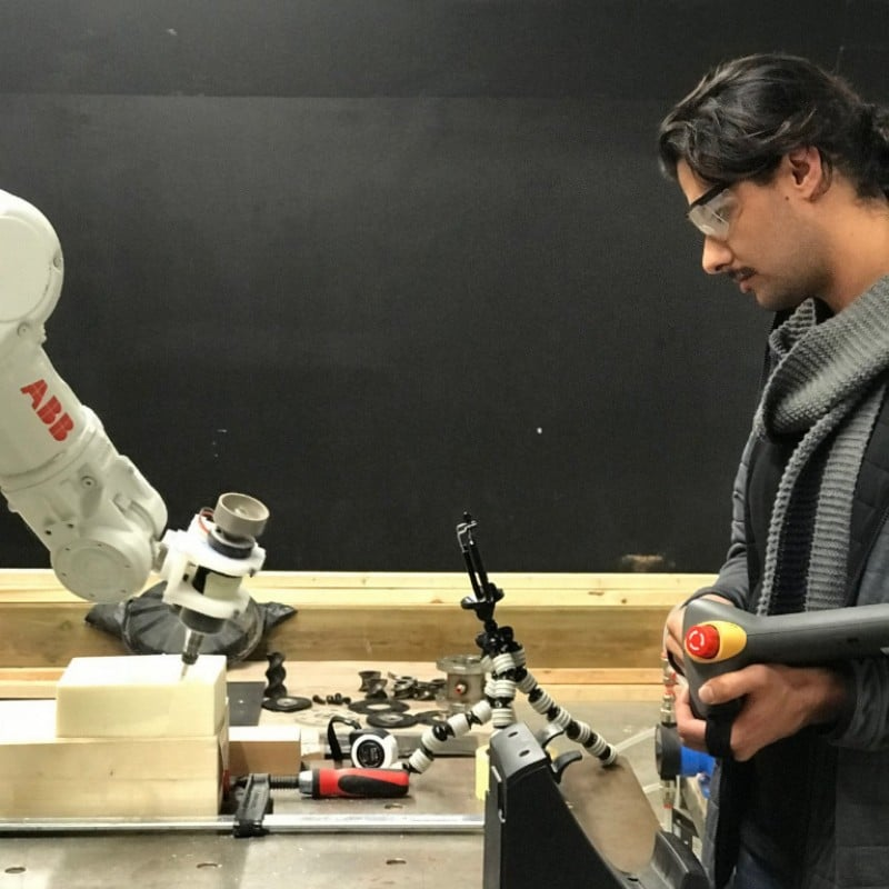 Master in Robotics and Advanced Construction