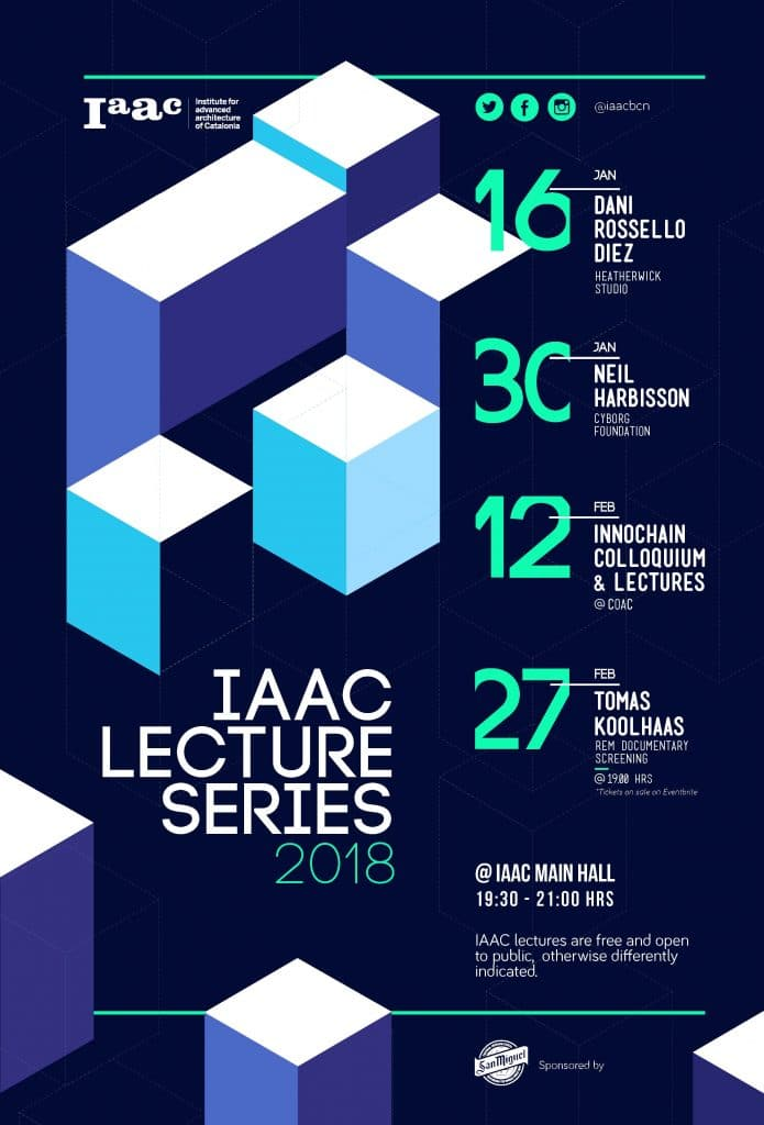 IAAC Lecture Series 2018