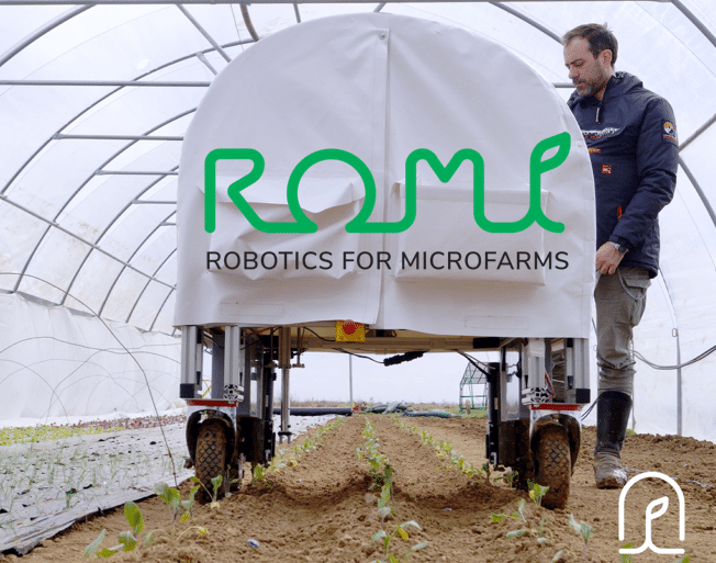 Romi Robotics for Microfarms