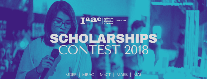 IAAC Scholarship content 2018 winners announcement