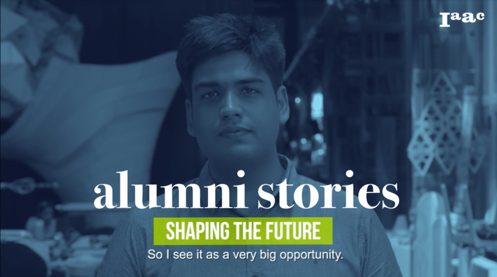Utsav Mathur - IAAC Alumni Stories