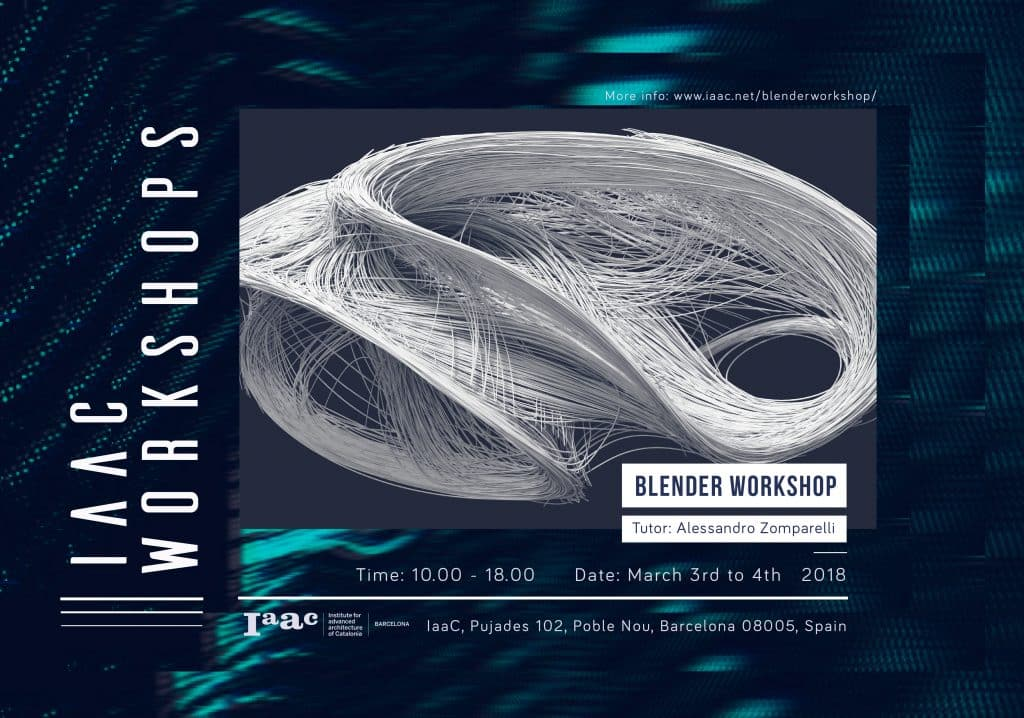 IAAC Workshop on Blender