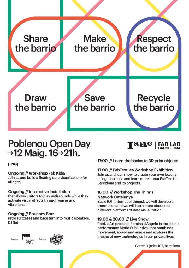 Poble Nou Open Day