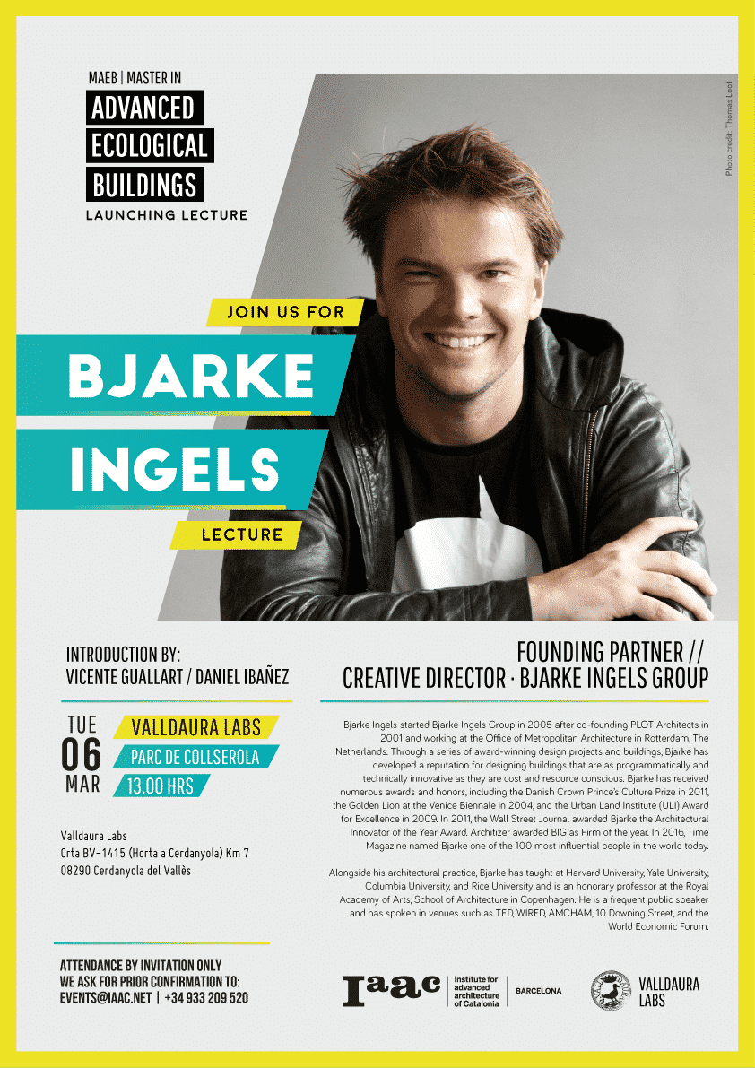 Bjarke Ingels Guest Lecture