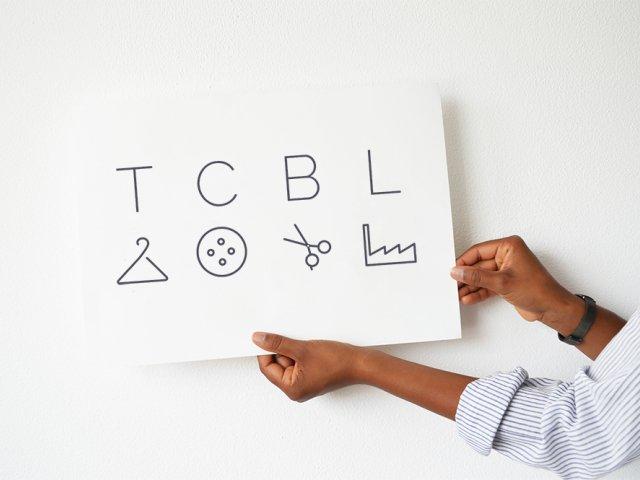 TCBL logo hands