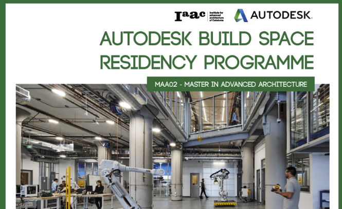 AutoDesk Build Space Residency Programme