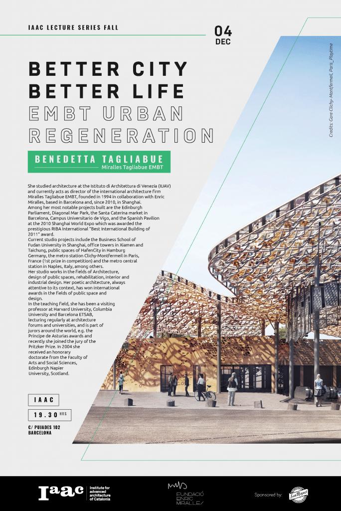 Better City Better Life Benedetta Tagliabue