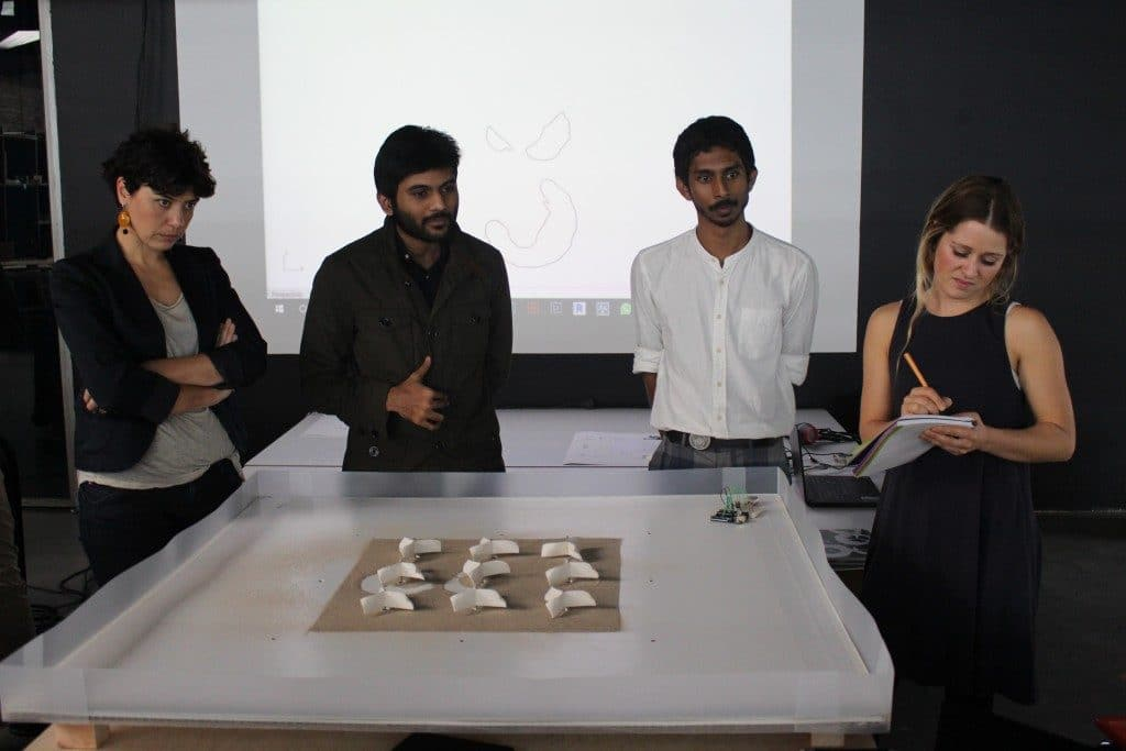 MAA Students present their work