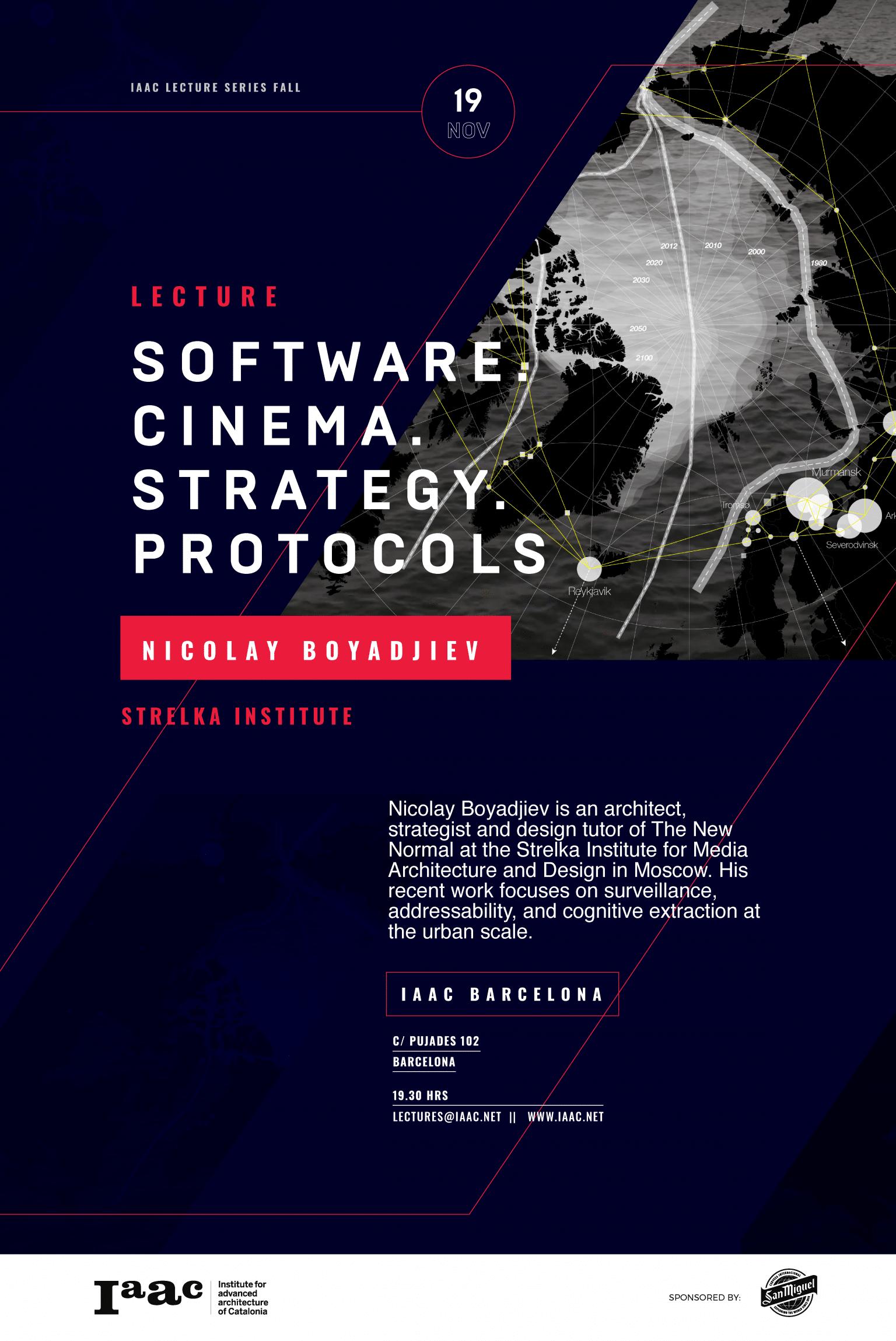 Nicolat Botadjiev IAAC Lecture