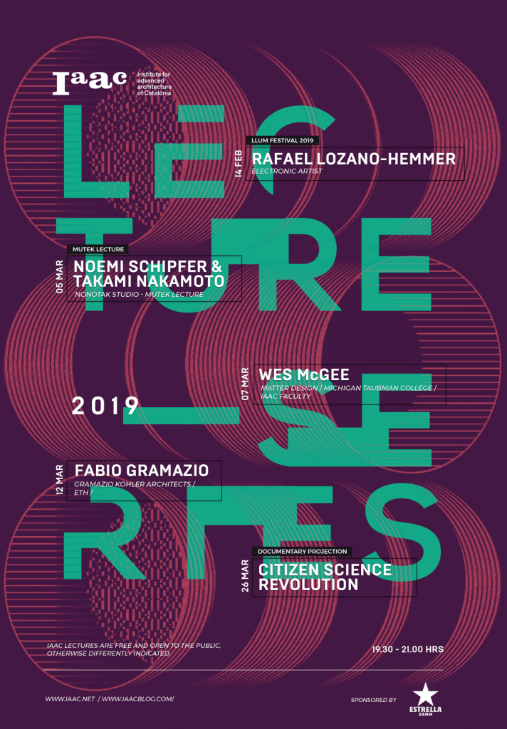 IAAC Winter Lecture Series