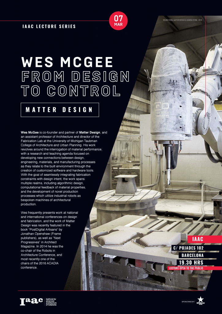 Wes McGee From Design to Control